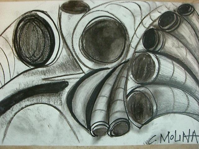 Cecille Molina - Boceto Ceramica