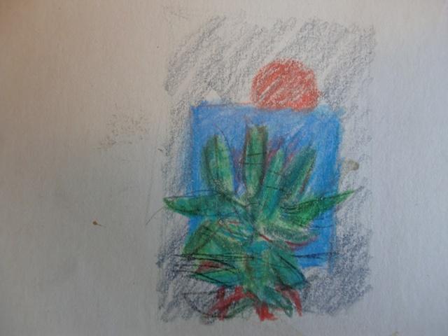 Dibujo orginal tajeta navidad