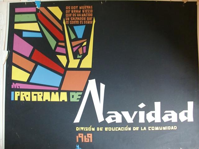 Programa de Navidad 1964