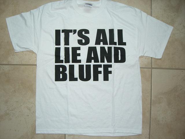 Jason Mena - It's all lie and bluff