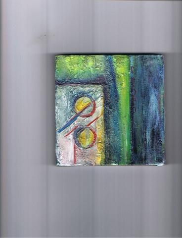 Ronald Borges - Abstraccion Azul