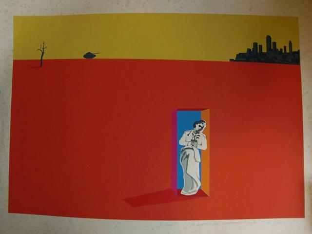 Serigrafia homenaje a Dali