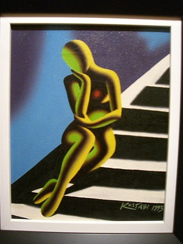 Mark Kostabi - Upwardly Mobile