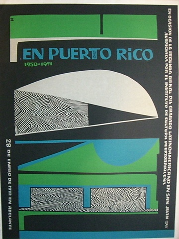 Lorenzo Homar - 2da Beinnal de Grabado Latinoamricano