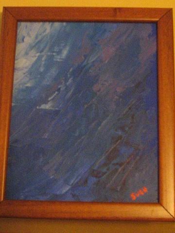 Sven Figueroa - Blue Abstraction