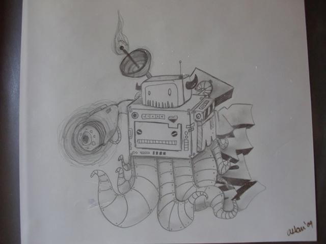 Robot Pulpo
