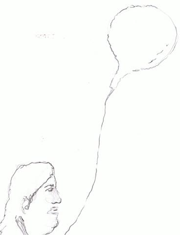 Jonathan Torres - Woman with Ballon