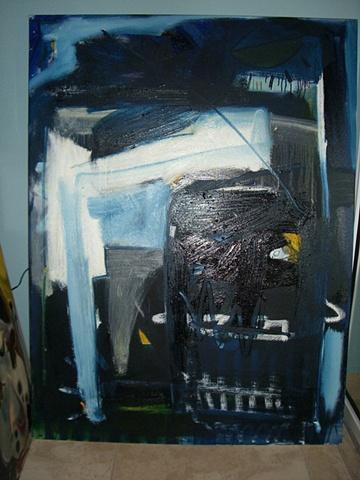Nelson Figueroa - Decapitated Robot Head