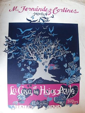 La Casa de las hojas Azules