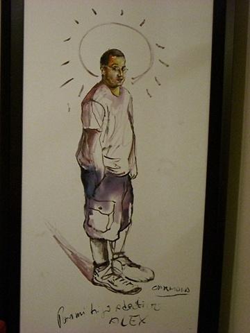 Williams Carmona - Portrait of Alexis