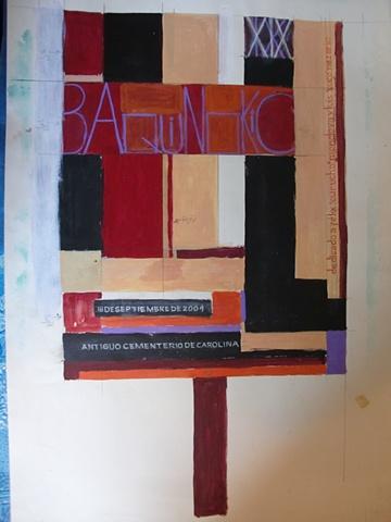 Boceto Original de Baquinokio 2004
