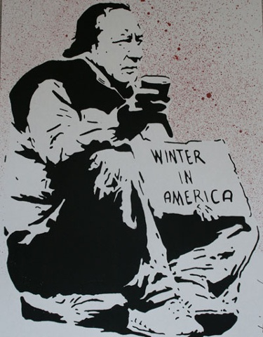 Winter in America 2 - ed. 23 hand painted