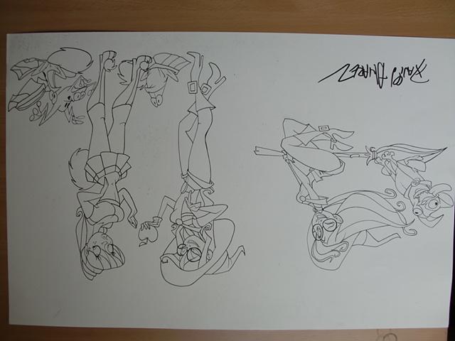 Dibujo para Paul Dimarti