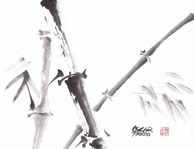 Oscar Pardo - Bambu Tree