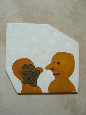 2 amarillos hanguenado