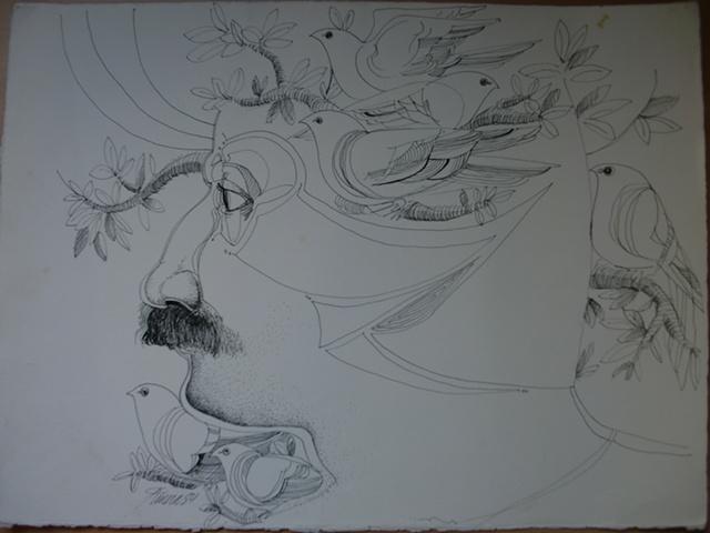 Dibujo Surrealista