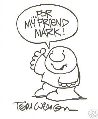 Tom Wilson - For My Friend Mark, Ziggy