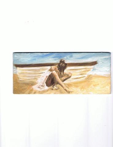 Esteban Valentin - Mujer con Bote 2