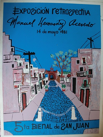 Expo Retrospectiva Manuel Hernandez Acevedo