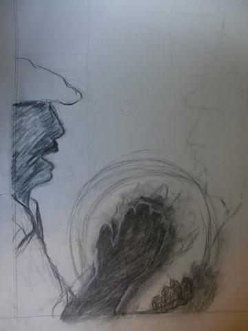 Boceto Orignal Bomba y Plena