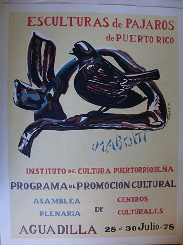 Escultura de Pajaros de PR