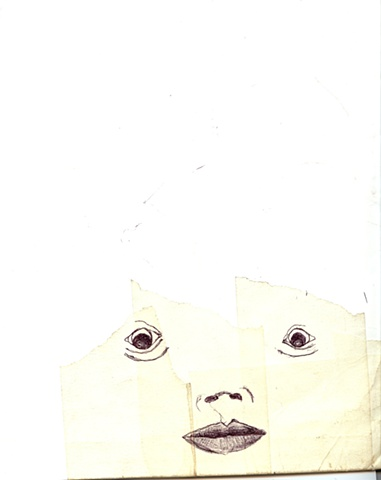 cara en folder