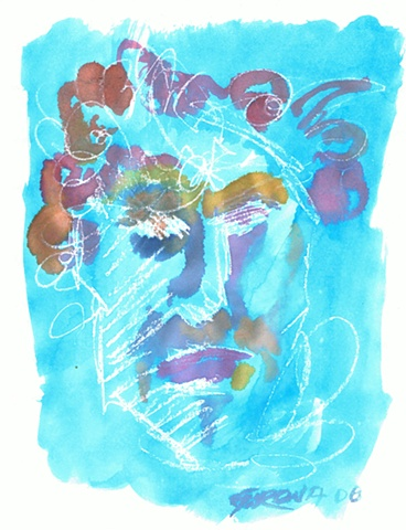 Ivan Girona - Watercolor Face