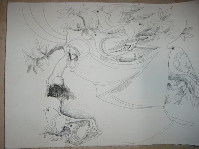 Rafael Rivera Rosa - Surreal Drawing
