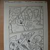 Bugs Bunny y Sam Bigotes en una Motora
