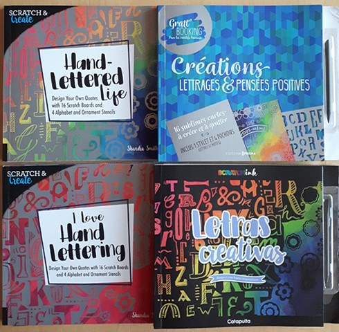 Scratch Art books