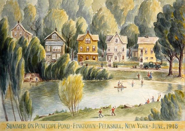 Summer on Penelope Pond