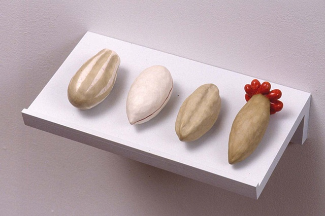 2004 Installation, Detail. Seeds, Set 2