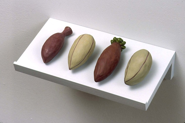 2004 Installation, Detail.  Seeds, Set 6