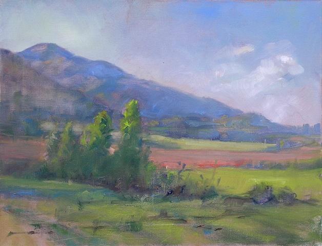 July Afternoon-Victor Idaho