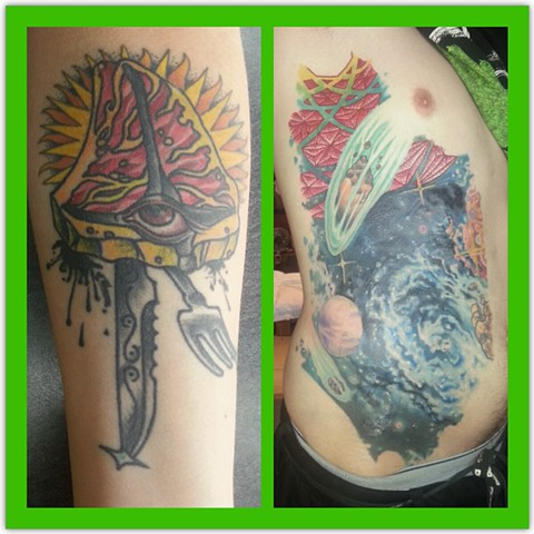 Unholy all-seeing steak healed and a huge coverup