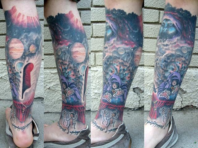Spacey leg 2