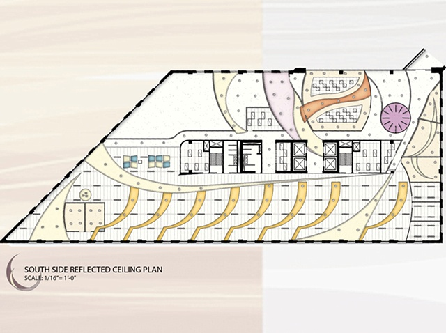 •   Apple Kore Corporate - South Side Reflected Ceiling Plan
