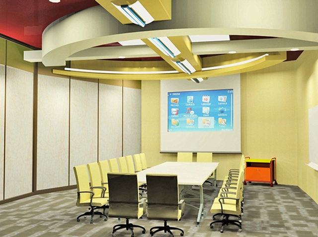 •   IIDA Design Competition - Interior Perspective