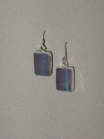 Sterling Silver, Stone:  Boulder Opal
