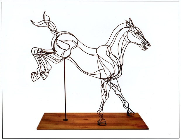 """Muybridge Horse #4"""