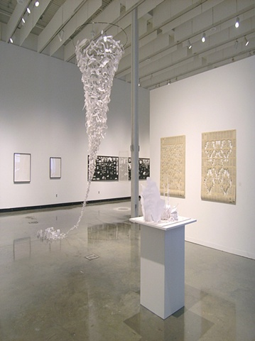 Installation view at Illges Gallery, Columbus State University