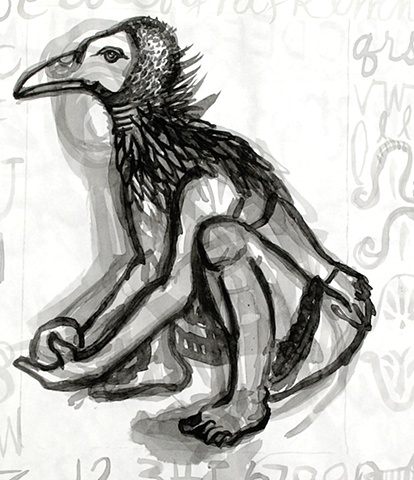 Untitled Study (Vulture)
