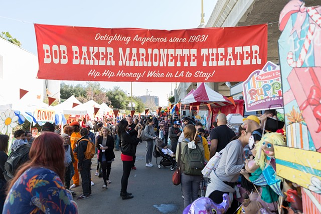 Banner for Bob Baker Day, Bob Baker Marionette Theatre Los Angeles, CA