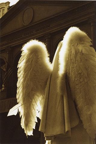 Human Statue - Angel