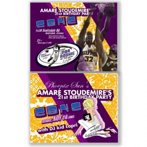 Amare Soudemire's Birthday