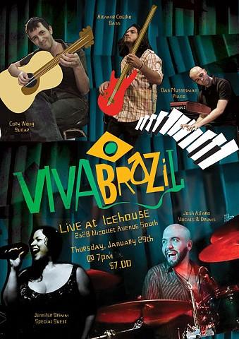 Viva Brazil Promo Poster