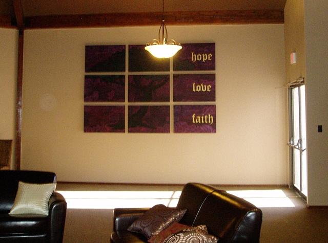 Carmichael Bible Church lobby