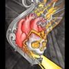 Skullheart Lantern