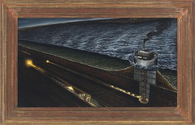 Cleveland Waterworks Crib #5 Tunnel Explosion
