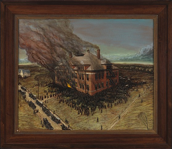 """Collinwood School Fire, """"Ash Wednesday of Ashes"""" March 4 1908"""